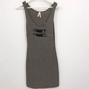 Urban Outfitters tank top dress sz XS striped